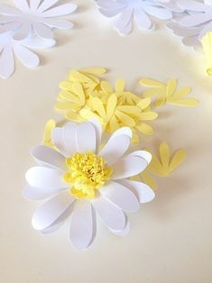 VK is the largest European social network with more than 100 million active users. Paper Flowers, Origami, Daisy, Photo Wall, Plants, Handmade, Baby Birthday, Birthday Ideas, Wall Photos