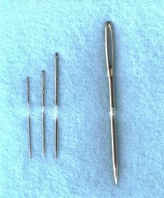 Cross Stitch Tools - Tapestry Needles and More: Chenille Needles - Used in Related Embroidery Styles
