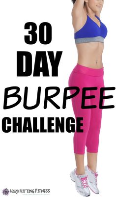 Try this 30-Day Burpee Challenge to really test your strength and endurance. I love how it's set up. Makes for a fun, interesting and different challenge because you don't know how it will play out.