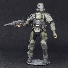 """Halo 3 ODST Collection Soldier THE ROOKIE 4.5"""" Action Figure McFarlane Toys #McFarlaneToys"""