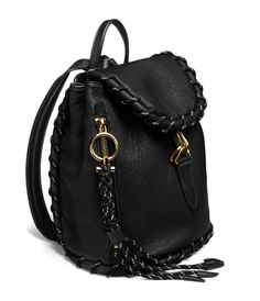 Acne Studios Rope Jungle Black Small backpack