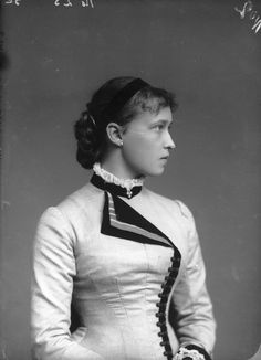 Irene of Hesse and by Rhine, Princess Henry of Prussia by Alexander Bassano half-plate glass negative, 1882