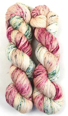 PDS Tenderfoot 80/20, colorway Festive  by Polka Dot Sheep Yarn