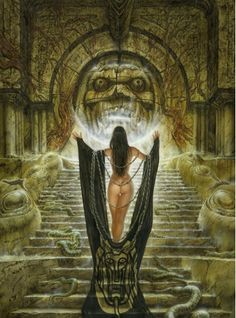 THE EMERALD TABLE Luis Royo