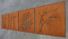 Australian grasses. Cutout laser cut projects, designs and concepts