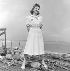 1940 Sailor Cotton Dresses - LIFE Magazine