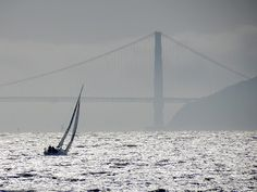 Sailing in the San Francisco Bay