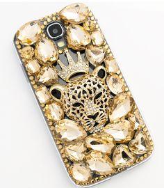 smartphonecase of DDPOP [Crystal tiger king]