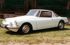 1960 CITROEN DS COUPE GT19 - concept by Hector Bossaert, designed by Pietro Frua with coachwork by Gété.
