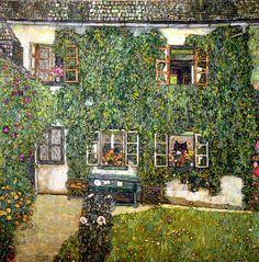 Gustav Klimt, Forrester's House, 1914