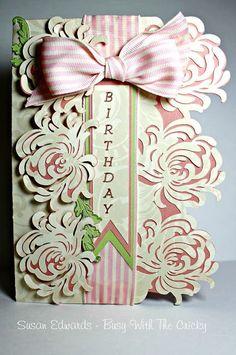 Busy with the Cricky: Anna Griffin Birthday Card