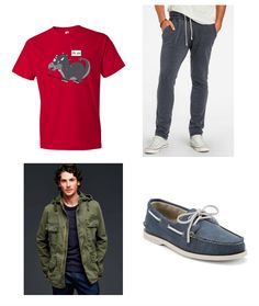 Gents dinosaur t-shirts outfit combo