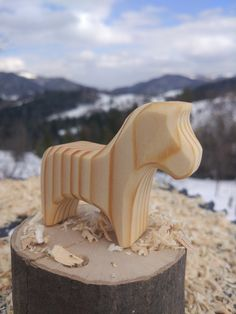 Toddler Toys, Kids Toys, Kids Learning Toys, Montessori Baby Toys, Eco Friendly Toys, Wooden Horse, Natural Toys, Waldorf Toys, Simple Shapes