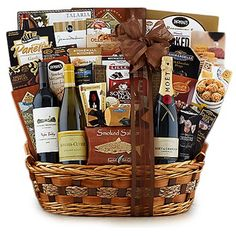 Order All Star Wine Trio Gift Basket, you will also find a wide range of alcohol gift baskets for every occasion or holiday from AmeriGiftBaskets.com