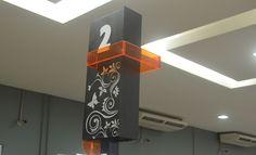 Comunicação Visual - Detalhe Checkout Loja Dom Pedro
