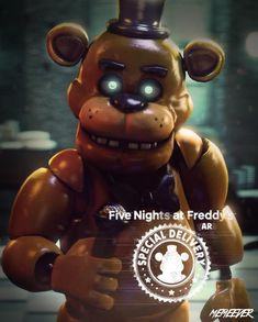Fnaf Golden Freddy, Fnaf Freddy, Freddy Fazbear, Five Nights At Freddy's, Fnaf 1, Anime Fnaf, Marionette Fnaf, Sonic Funny, Fnaf Wallpapers