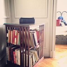 Book deck at Hotel Locarno, Rome