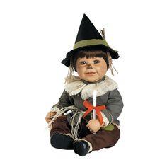 "Adora Wizard Of Oz Scarecrow Vinyl 20"" Doll Brown Hair Brown Eyes"