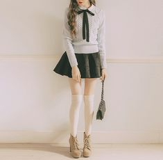 Kfashion | School girl style