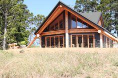 tehuia log cabin new zealand frame builders