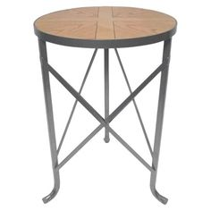 Threshold Metal Accent Table