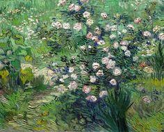 Roses, 1889 | Vincent Van Gogh