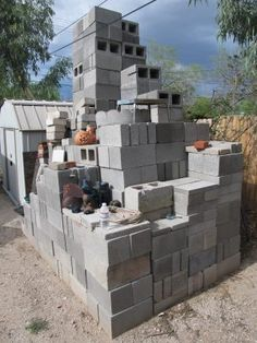 Cinder block is a useful building material. Here are 15 creative uses for cinder blocks in different areas including cooking, building, safety and more!