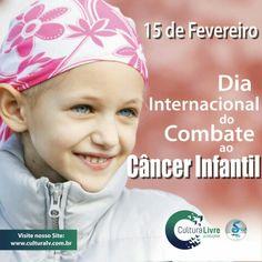 Dia Internacional de Combate ao Câncer Infantil  #diainternacionaldecombateaocâncerinfantil #câncerinfantil #cancerinfantil #15deFevereiro #prevencao #culturalivre #CulturaLivre #prevenção   #diainternacionaldecombateaocâncerinfantil #câncerinfantil #cancerinfantil #15deFevereiro #Fevereiro2016 #culturalivre  #CulturaLivre