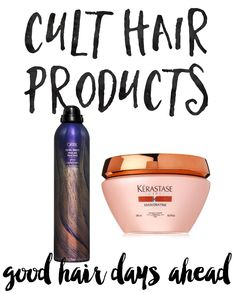These cult favorite hair products are definitely worth splurging on! No more bad hair days!