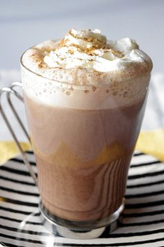 Pumpkin Hot Chocolate by kellylovescupcakes, via Flickr