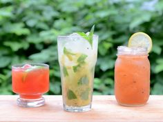 Beverages From The Grill