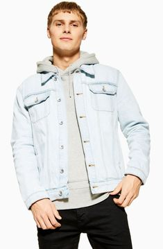 Product Info Classic fit Classic denim western styling Chest pockets Button fastening Side pockets 100% Cotton Machine washable Jean Délavé, Jacket Images, Bleach Wash, Jeans, Streetwear, Coat, Blue, Outfits