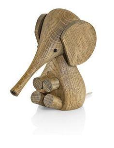 Lucie Kaas - Floerning elefant 11cm