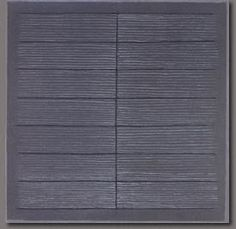 Agnes Martin || Untitled, c. 1962 Oil on canvas, 12 x 12