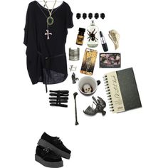 """Macabre Artist"" by morbid-octobur on Polyvore"