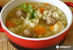 Türingiai karfiolleves Cheeseburger Chowder, Food And Drink, Parsley, Chef Recipes, Food And Drinks, Food Food