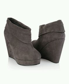 6f9a76300710 Wedge Boots these are cute i want a pair Wedge Boots