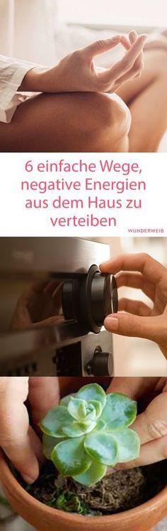 Negative Energie vertreiben #Meditation Wellness Spa, Mindful Living, Spiritual Life, Reiki, Work Life Balance, Yoga Videos, Mental Training, Feng Shui, Yoga Meditation