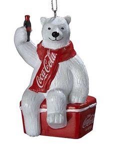 Kurt Adler Coca-Cola Polar Bear Christmas Ornament #Kohls #holiday #decor