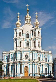 Iglesia del monasterio de Smolny, San Petesburgo