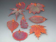 Electroformed leaves