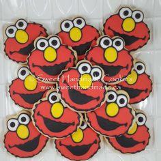 Throwback Thursday to these cuties!  #sweethandmadecookies #customcookies #decoratedcookies #designercookies #cookies #bradfordontariocookies #elmo #elmocookies #sesamestreet #sesamestreetcookies