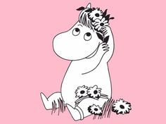 And then Summer arrived Regram moominofficial moomin summertime Richard Ayoade, Kate Winslet, Rosamund Pike, Moomin Tattoo, Moomin Wallpaper, The Mighty Boosh, Tove Jansson, Enjoy Your Weekend, Comic