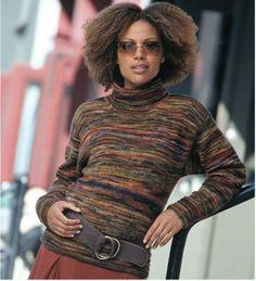Koigu Color Band Pullover