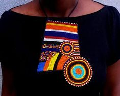 Maasai Beaded Statement Jewelry for the head-turners by AfricaZuri African Earrings, Tribal Earrings, Tribal Jewelry, Beaded Earrings, Unusual Jewelry, Will Turner, Statement Jewelry, Create Yourself, Gifts For Her