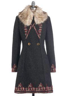 Plenty by Tracy Reese Turn to the Tundra Coat, #ModCloth