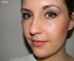 """Rouge à lèvres minéral Rosy Tan (#6714), Beauty Eyes Book """"Warm' (#33040), Ombre à paupières scintillante """"Soirée"""" (#81144) http://www.eyeslipsface.fr/"""