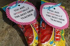 Swim coach thank you! teach-gifts