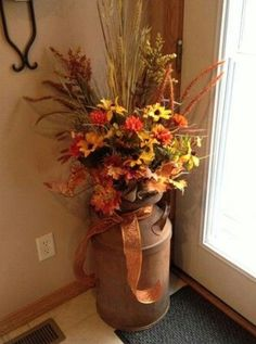 The Latest Fall Decoration To Copy Right Now - Home Decoration Ideas Autumn Decorating, Porch Decorating, Decorating Ideas, Interior Decorating, Fall Home Decor, Autumn Home, Diy Autumn, Thanksgiving Decorations, Seasonal Decor