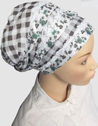The Breslov Oblong Head Wrap (Beehive)